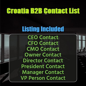 Croatia B2B List
