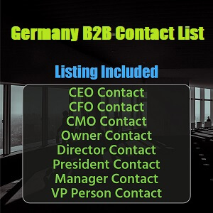Germany B2B List
