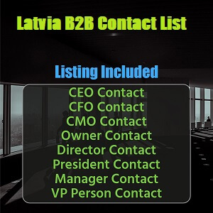 Latvia B2B Contact List
