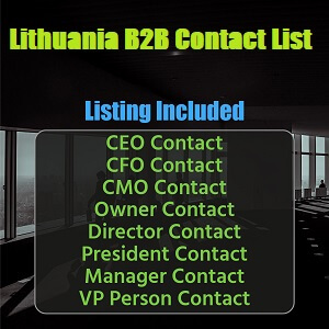Lithuania B2B Contact List