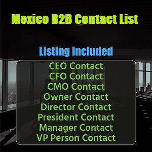Mexico B2B Contact List