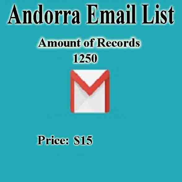 Andorra Email List