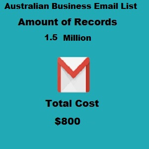 Australian Business Email List