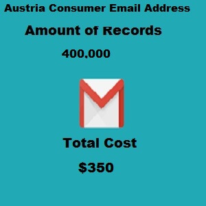 Austria Consumer Email Address