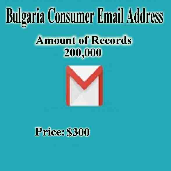Bulgaria Consumer Email Address