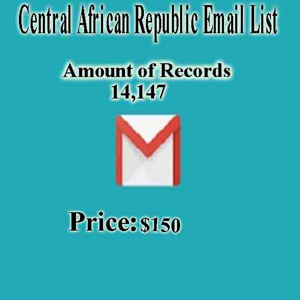 Central African Republic Email List