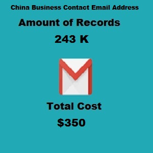 China Business Contact Email Address