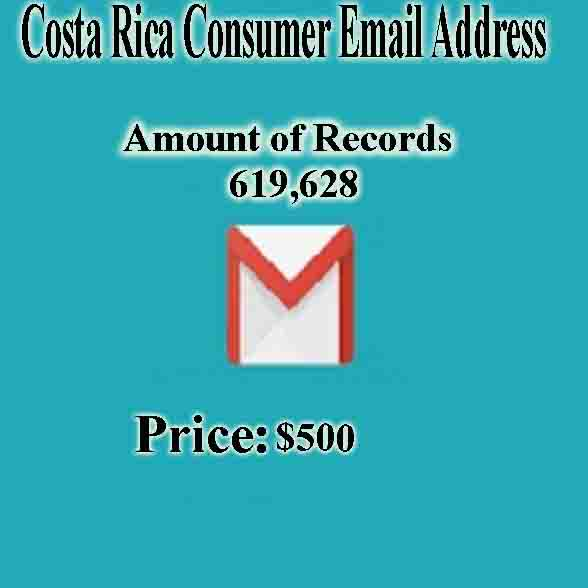 Costa Rica Consumer Email Address