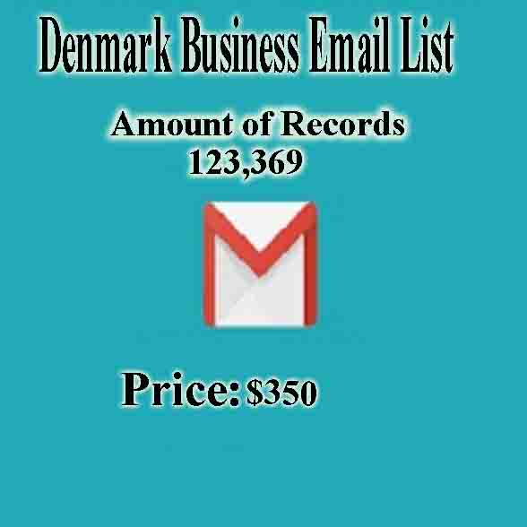 Denmark Business Email List