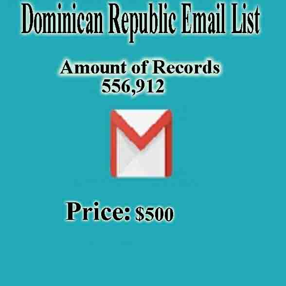 Dominican Republic Email List