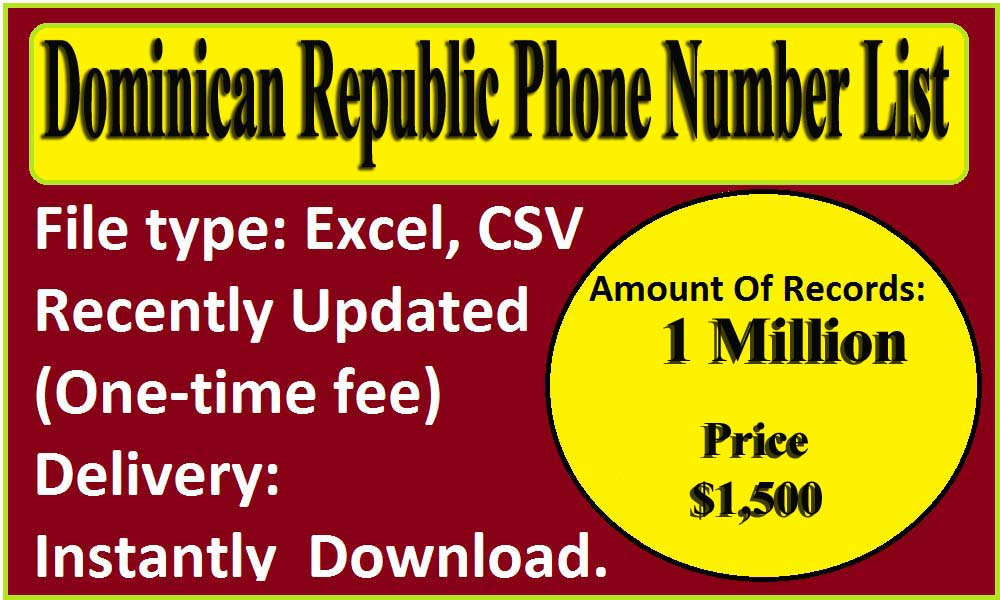 Dominican Republic Phone Number List