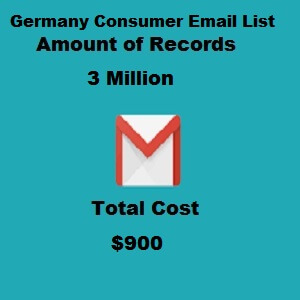 Germany Consumer Email List