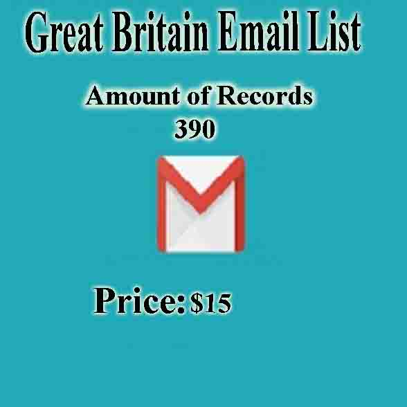 Great Britain Email List