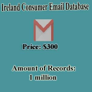 Ireland Consumer Email Database