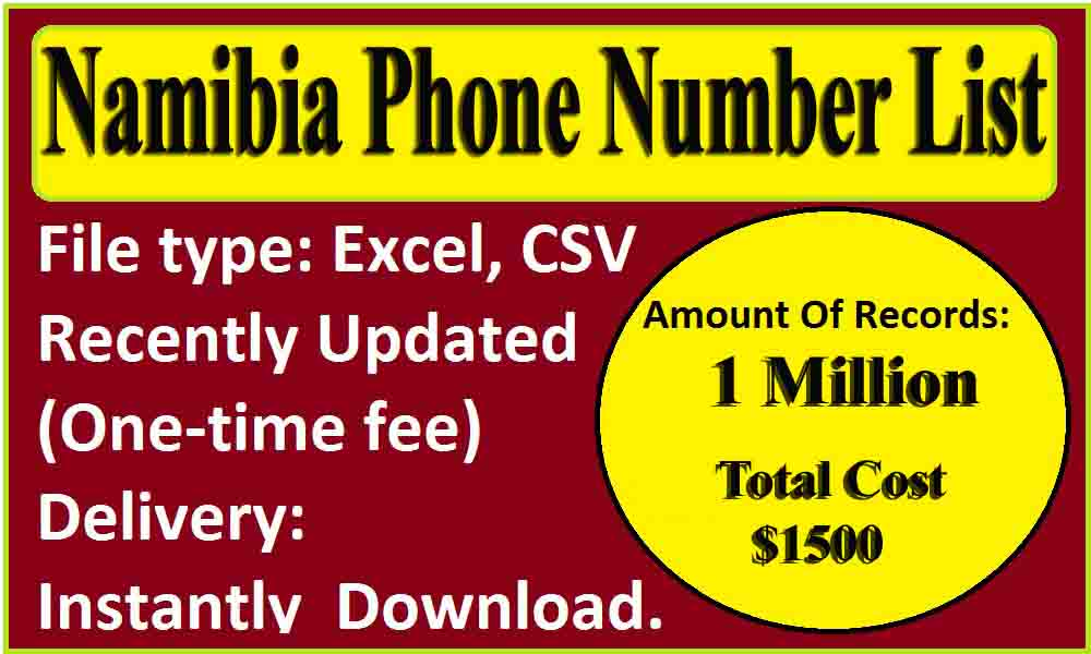 Namibia Phone Number List