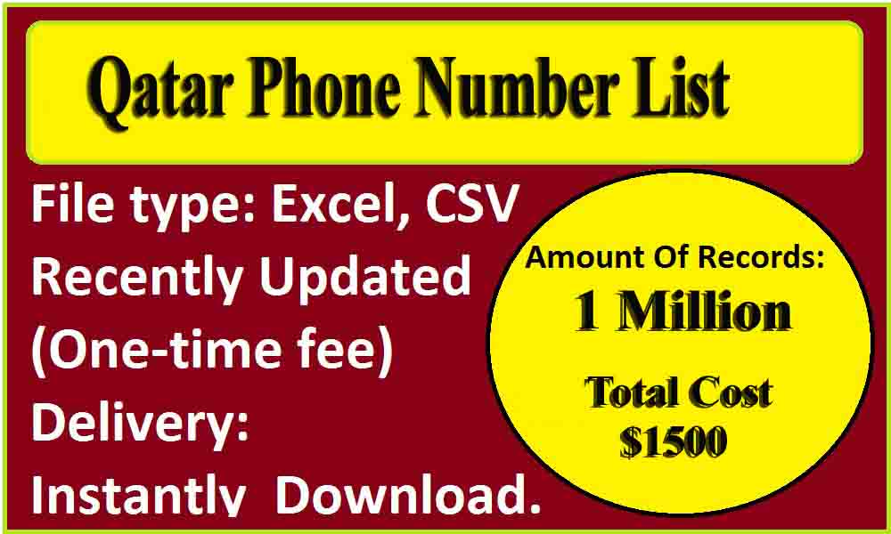 Qatar Phone Number List