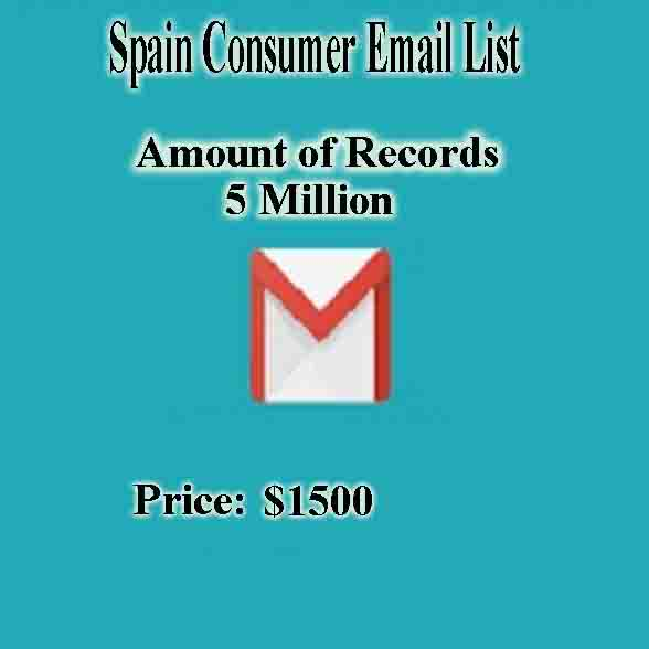 Spain Consumer Email List