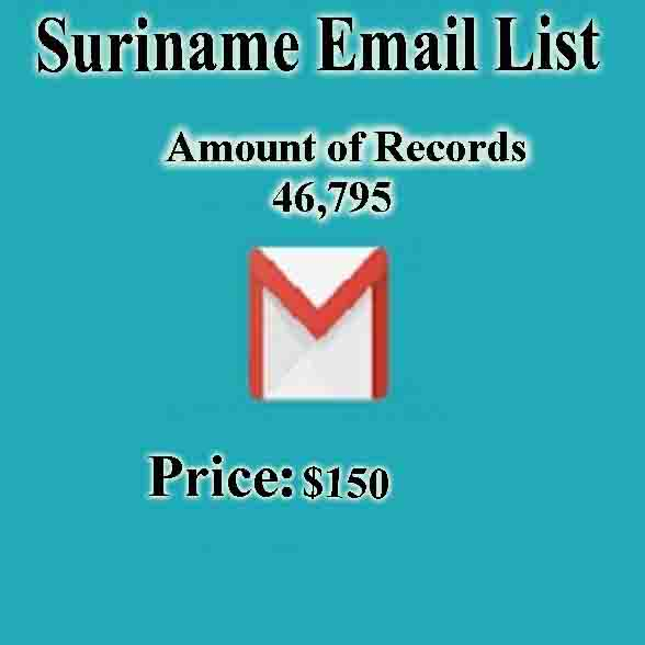 Suriname Email List