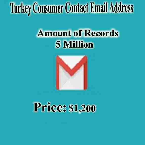Turkey Consumer Contact Email Address