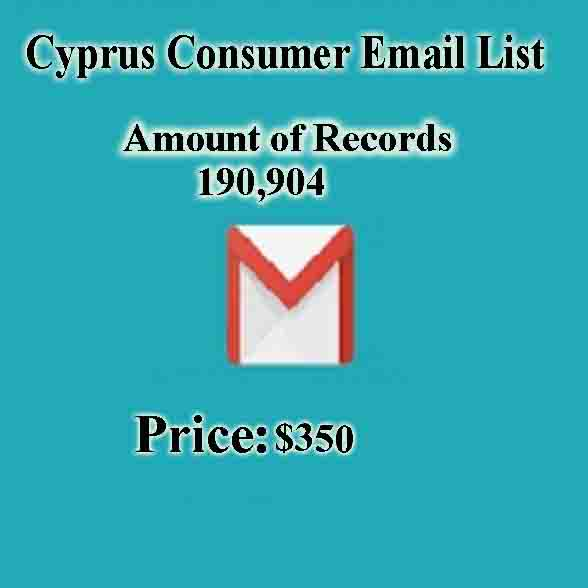 Cyprus Consumer Email List